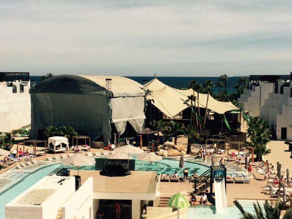 ¡Nuevo récord! Carpa de 12 metros de altura en el Hotel Hard Rock Ibiza - Safara Carpas
