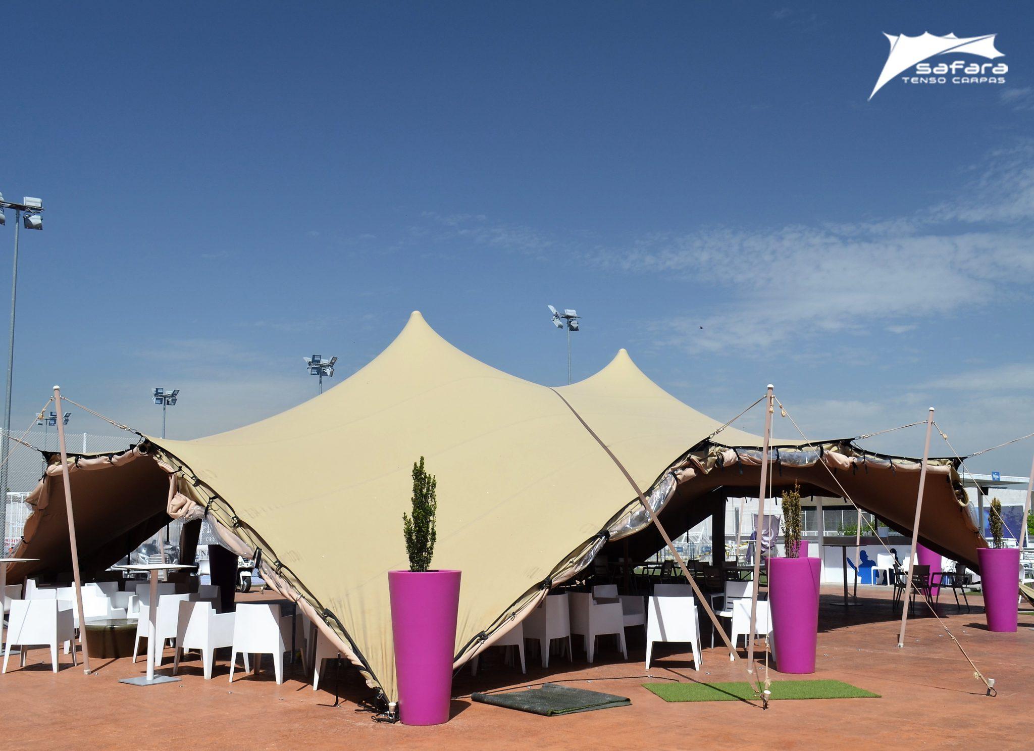 Los cerramientos Safara, ideales para resguardar a tus invitados - Safara Carpas