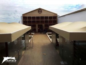 Carpas para restaurantes de tres Estrellas Michelín - Safara Carpas