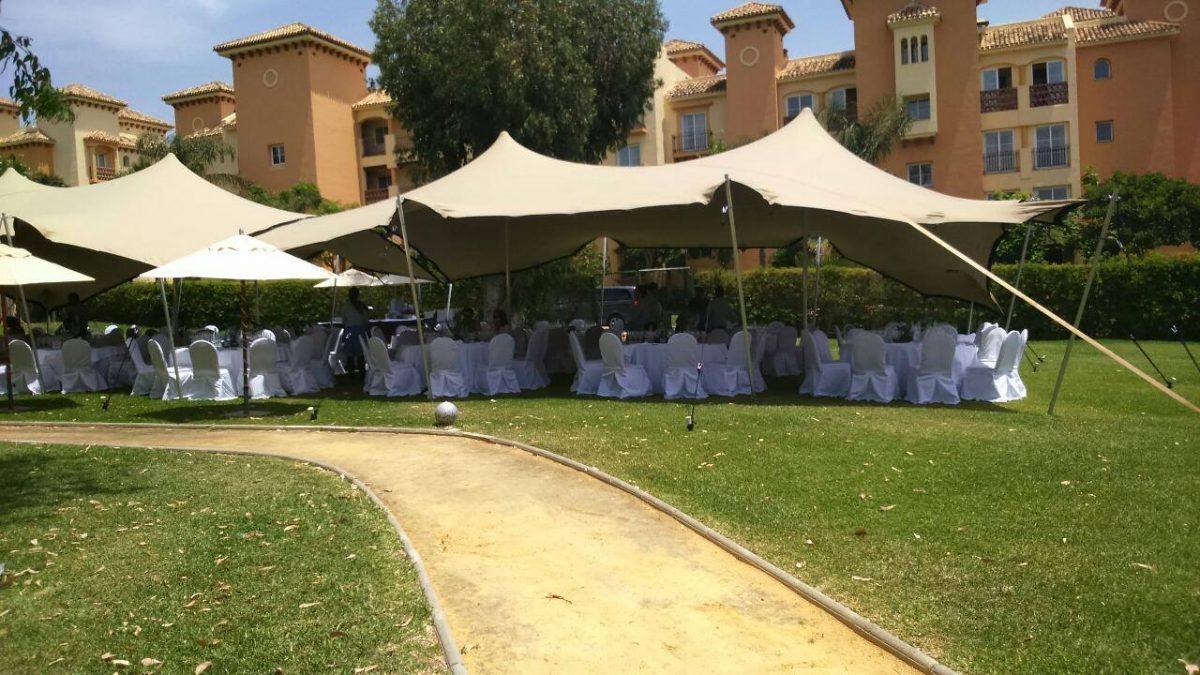 Soluciones con carpas para eventos celebrados en tu hotel - Safara Carpas